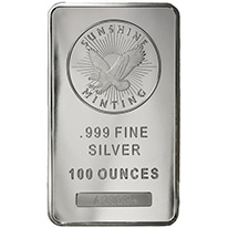 100 oz Silver Products