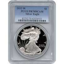 Proof PCGS Silver Eagles