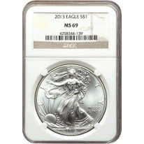 NGC American Silver Eagles