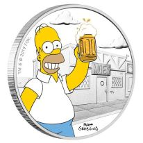 The Simpsons Silver Coins