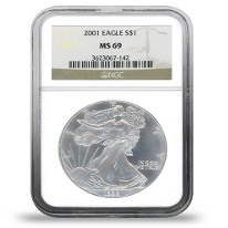 Certified Silver Coins