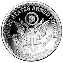Armed Forces Silver Rounds