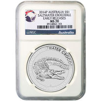 Certified Australian Silver Coins
