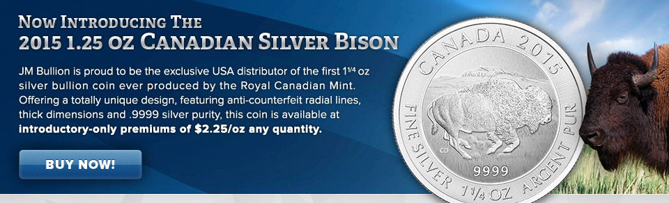 Canadian Silver Bison