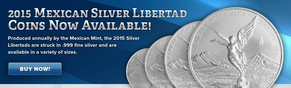 2015 Silver Libertads