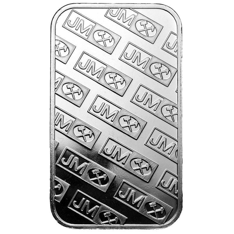 Buy 1 Oz Johnson Matthey Silver Bars L Jm Bullion