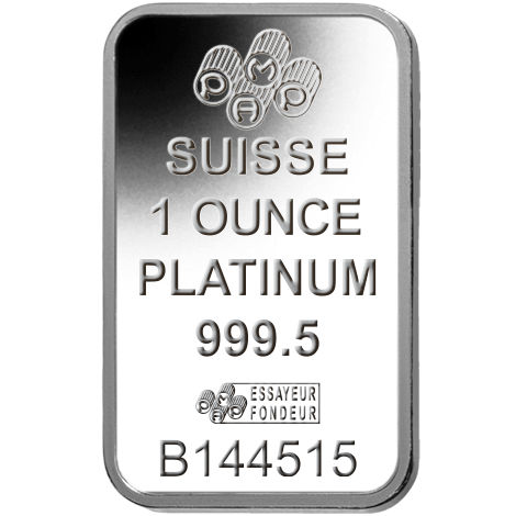 Buy 1 Oz Pamp Suisse Platinum Bars Best Value L Jm Bullion