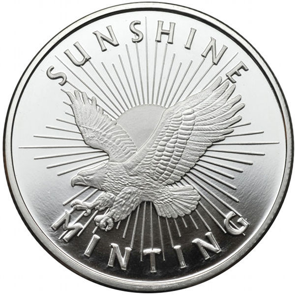 Buy 1 Oz Sunshine Silver Rounds Online New L Jm Bullion