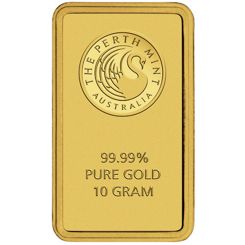 Buy 10 Gram Perth Mint 9999 Gold Bars New W Assay L Jm
