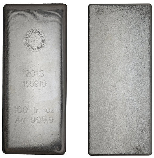 100 oz RCM Bar