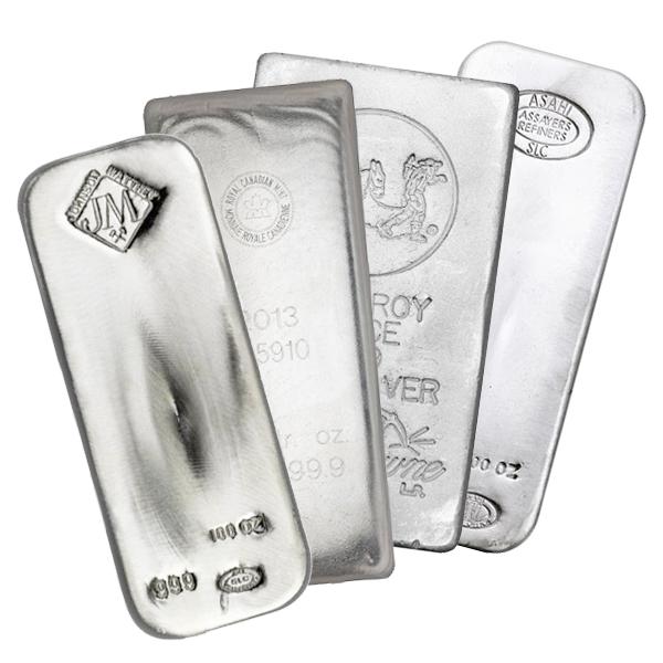 Buy 100 Oz Silver Bars Online Best Value L Jm Bullion