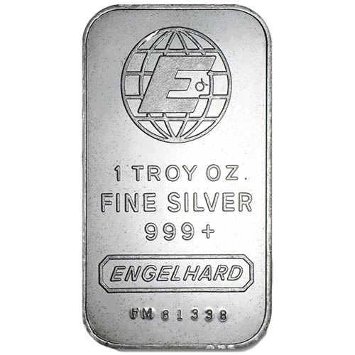 Buy 1 Oz Engelhard Silver Bars Online 999 Pure L Jm