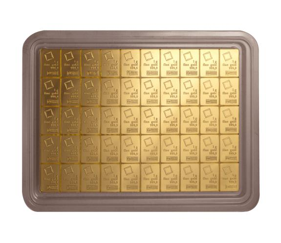 Buy 50 Gram Valcambi Gold Combibars New L Jm Bullion