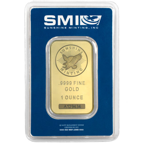 Buy 1 Oz Sunshine Mint 9999 Gold Bars Online L Jm Bullion