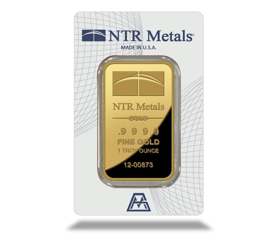 1 Oz Ntr Gold Bar New