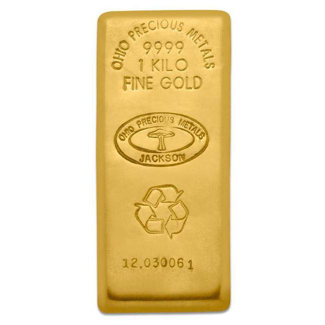 1 Kilogram Opm Gold Bar New W Ay