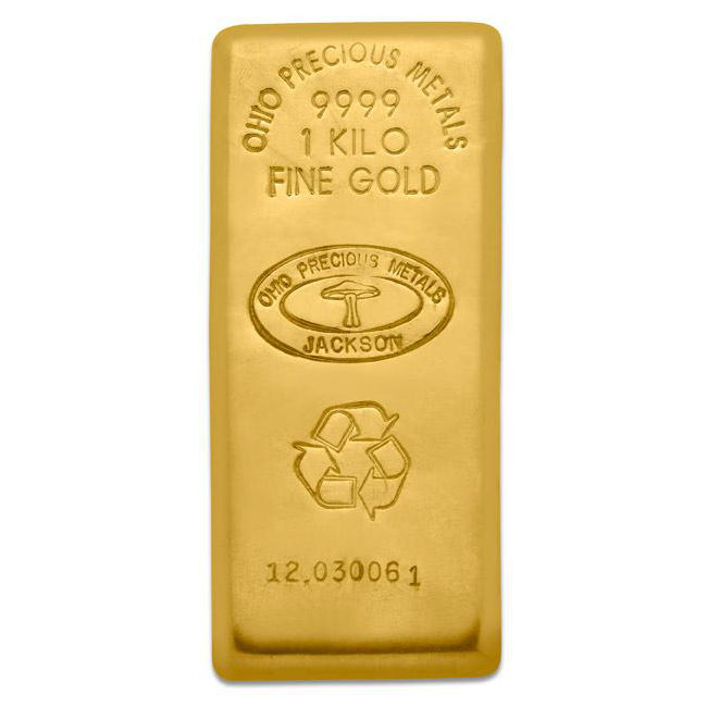 Buy 1 Kilo 9999 Opm Gold Bars Online Free Shipping Jm