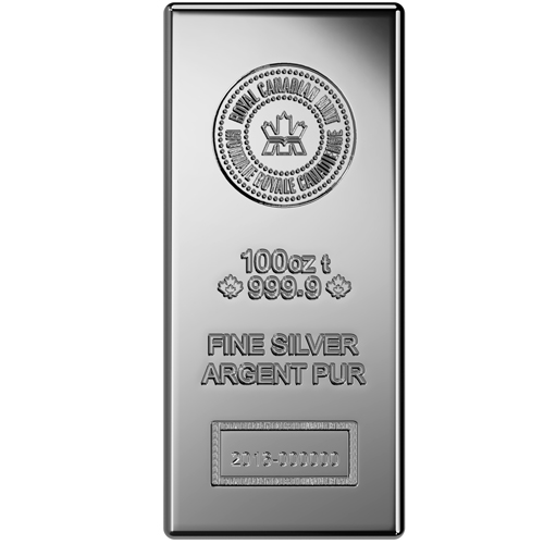 Buy 100 Oz Rcm Silver Bars Online 9999 Pure Jm Bullion