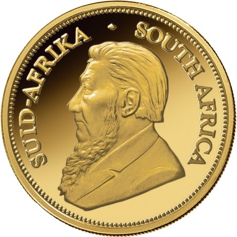 1 Oz South African Gold Krugerrand Coin Random Year Bu