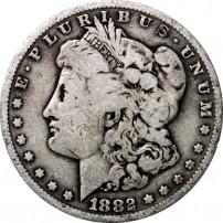 Morgan Silver Dollar Fine