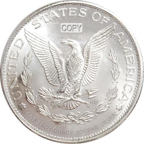 Buy 1 Oz Hm Morgan Silver Rounds Online 999 Pure L Jm