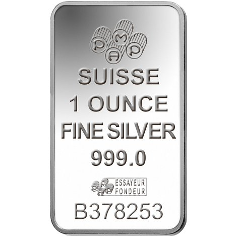 Buy 1 Oz Pamp Suisse Silver Bars Online New L Jm Bullion