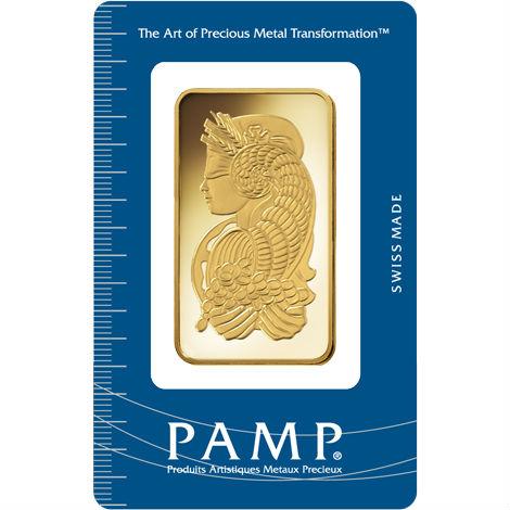 Buy 100 Gram Pamp Suisse 9999 Gold Bars Pressed L Jm