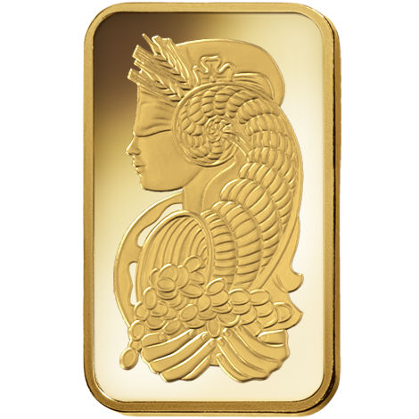 Buy 5 Gram Pamp Suisse Veriscan Gold Bars Online New L