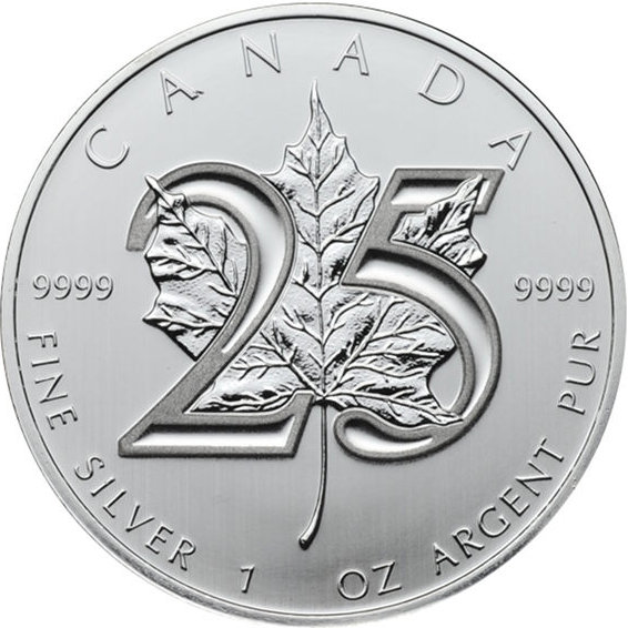 1 Oz Silver Canadian Maple Leaf Price
