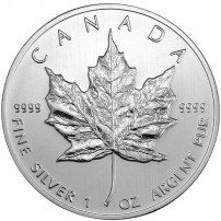 2013 Canadian Silver Maple Leaf