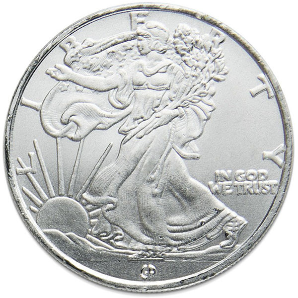 Buy 1 10 Oz Gam Walking Liberty Silver Rounds Online L Jm