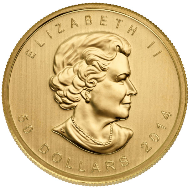 Buy 2014 Canadian Gold Maple Leafs Online 1 Oz Jm Bullion