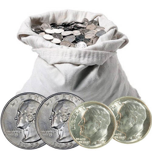 90/% Silver Type Coins For Sale Silver Coins 5 Coin Collection Set Old U.S