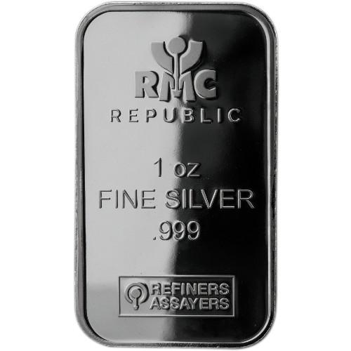 Buy 1 Oz Rmc Silver Bars Online 999 Pure New L Jm Bullion