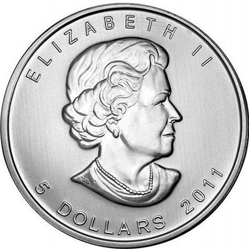 2011 Canadian Silver Maple Leaf