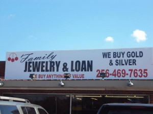 Where to buy gold and silver in huntsville alabama al for Family jewelry and loan
