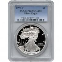 1995-p-eagle-pcgs-pr70dcam