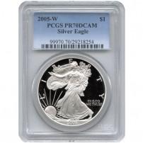 2005-w-eagle-pcgs-pr70dcam-new