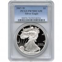 2007-w-eagle-pcgs-pr70dcam-new