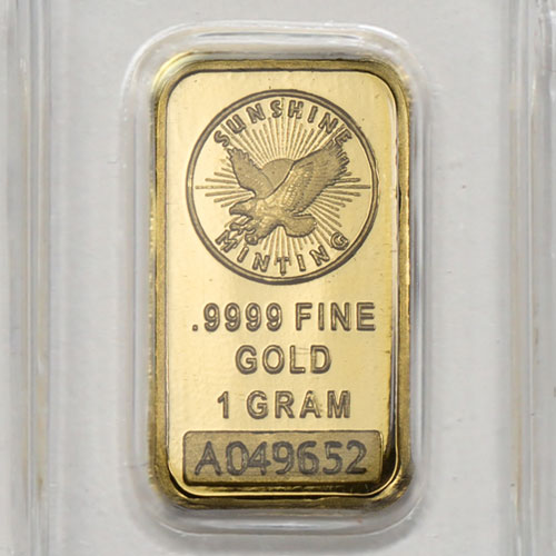 Buy 1 Gram Sunshine Gold Bars Brand New L Jm Bullion