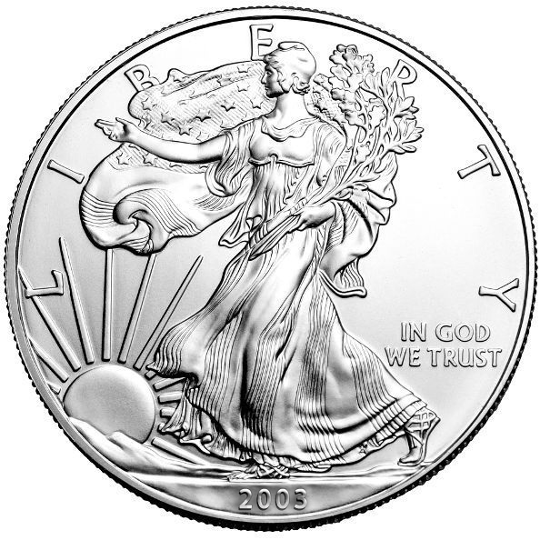 Mint Gift Box 2003 American Silver Eagle in U.S