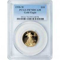 1998-W-$10-PR70
