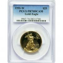 1998-W-$25-PR70