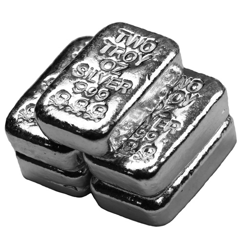 Buy 2 Oz Atlantis Poured Silver Bars Online L Jm Bullion