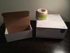 Double Box Silver Gold Shipment