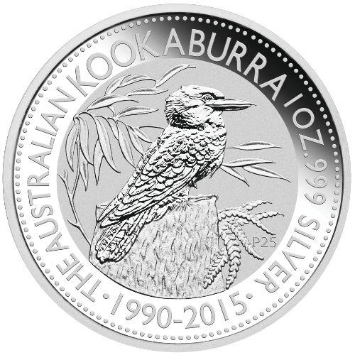 Buy 2015 1 Oz Australian Silver Kookaburra Coins L Jm Bullion