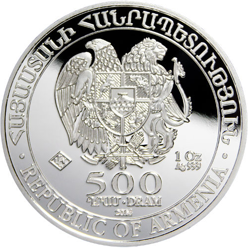 Buy 2014 1 Oz Armenian Silver Noahs Ark Coins L Jm Bullion