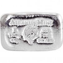 Buy 10 Oz Atlantis Skull Amp Crossbones Silver Bars L Jm