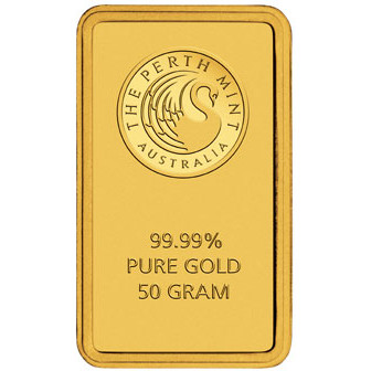 Buy 50 Gram Perth Mint Gold Bars Online L Jm Bullion