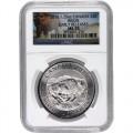 ms70 silver bison obverse